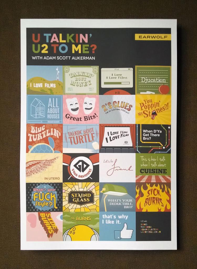 U Talkin' U2 to Me? print