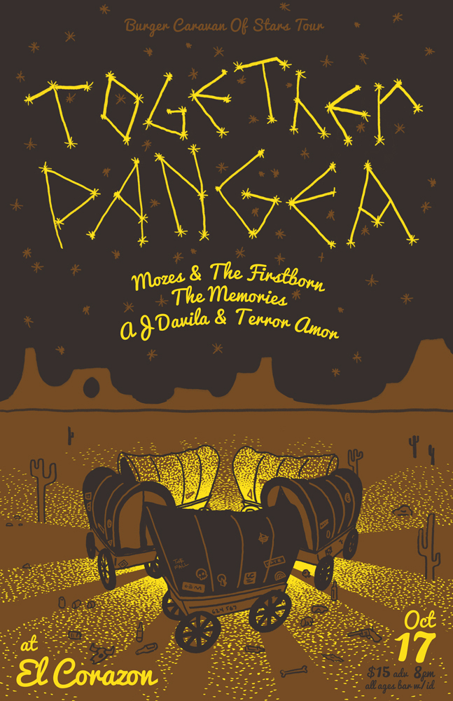 Together Pangea at El Corazon