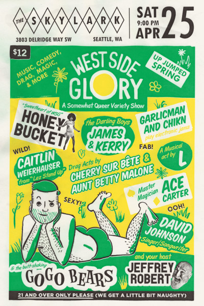 West Side Glory posters