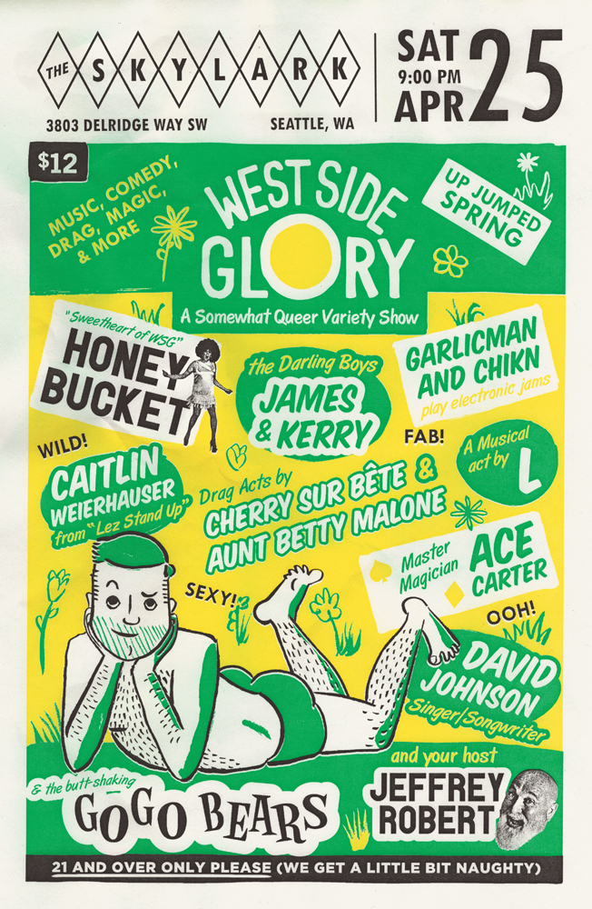 West Side Glory - Up Jumped Spring