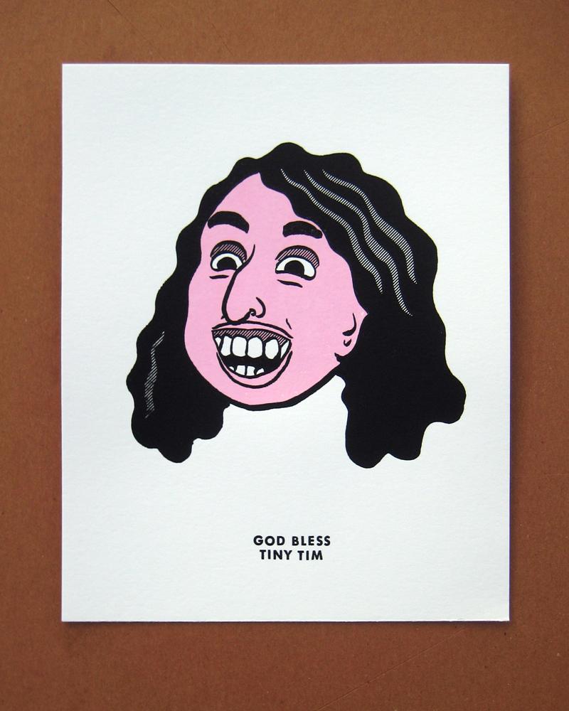 Tiny Tim print