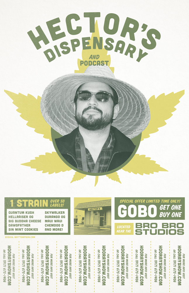 The Hooray Show - Hector's Dispensary