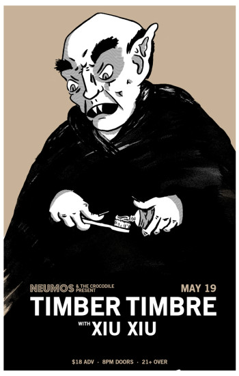 Timber Timbre at Neumos posters