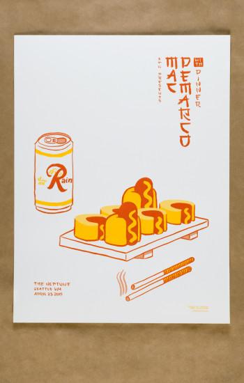 Mac Demarco at Neptune poster