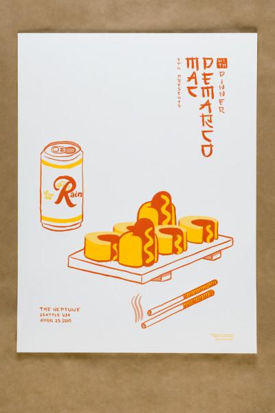 Mac Demarco show poster