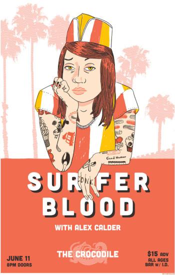 Surfer Blood at Neumos poster