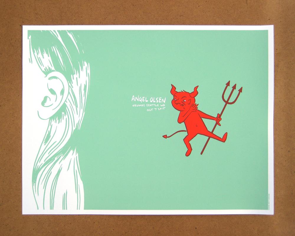 Angel Olsen print