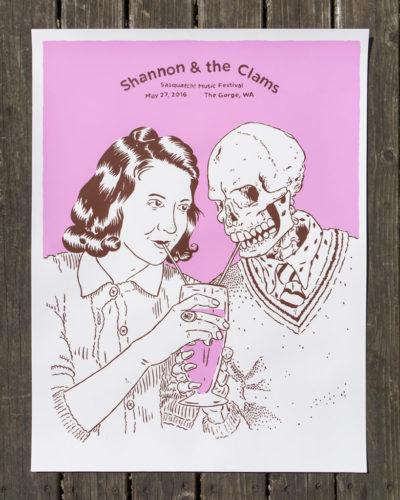 Shannon & The Clams at Sasquatch Music Festival print