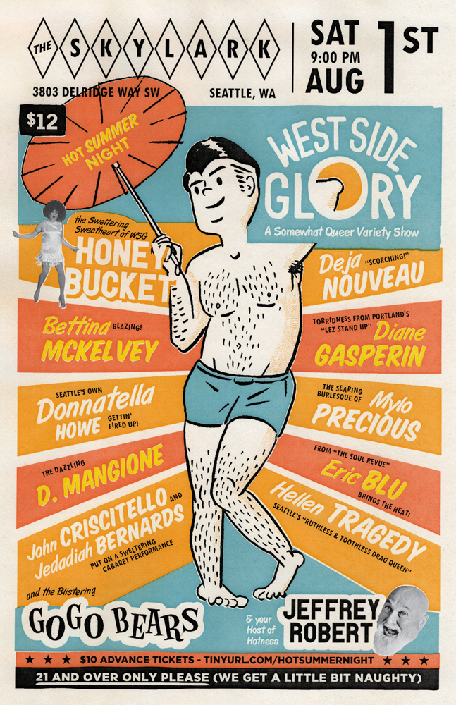 West Side Glory poster - Hot Summer Night