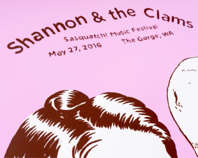 Shannon & the Clams (detail)