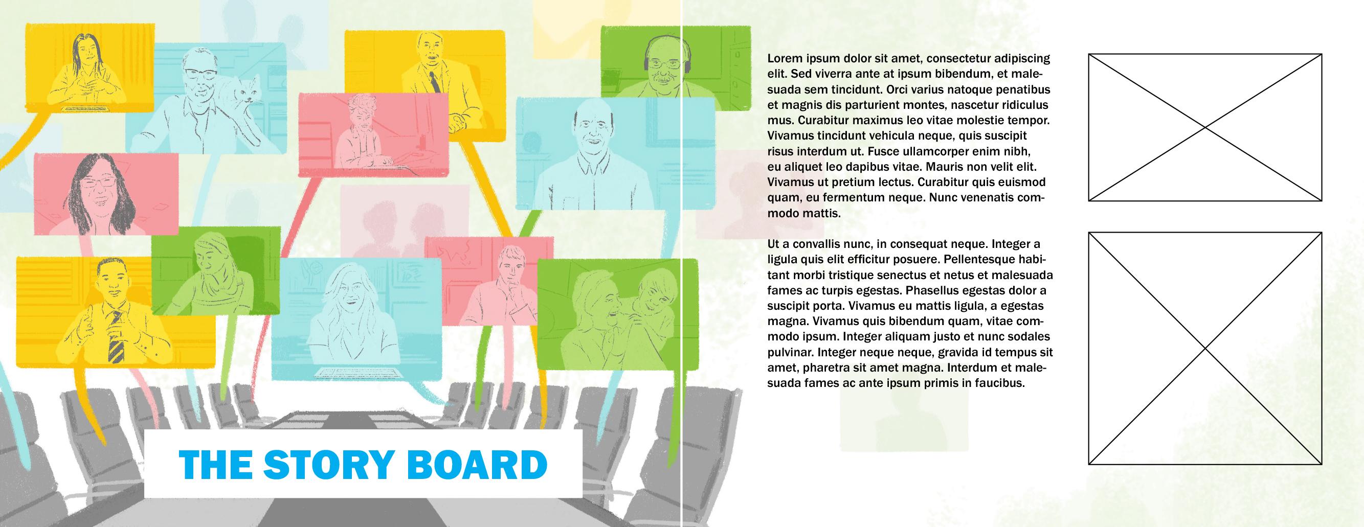 Layout Story Board