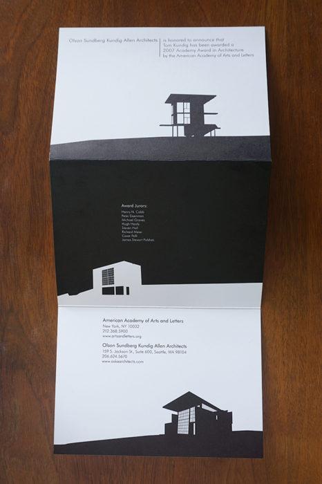 Olson Kundig mailer02